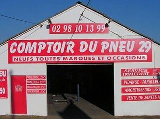 Comptoir du pneu 29 – Centre auto et garage mécanique