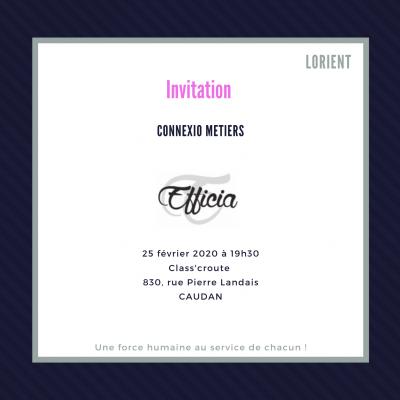 Connexio Métiers 25/02/2020