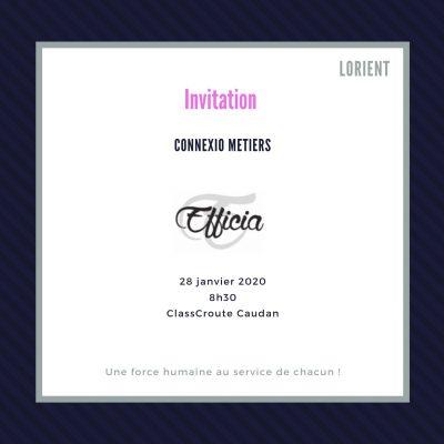 Connexio Métiers 28/01/2020