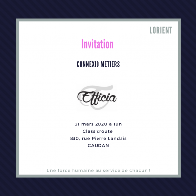 Connexio Métiers 31/03/2020