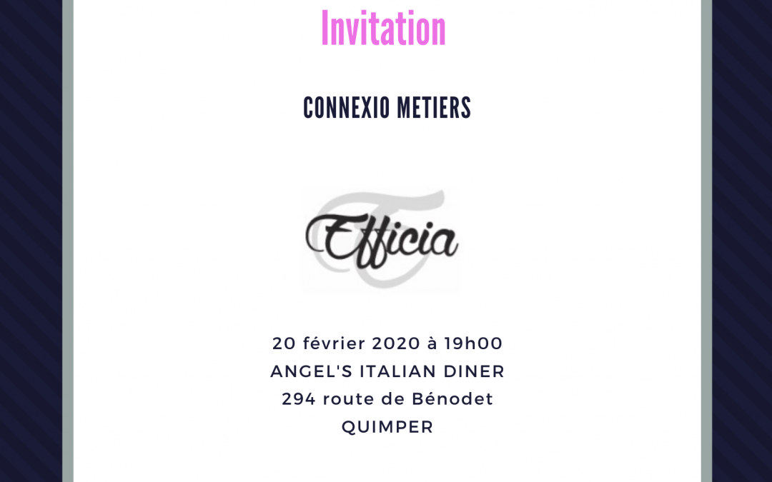 Connexio Métiers 20/02/2020
