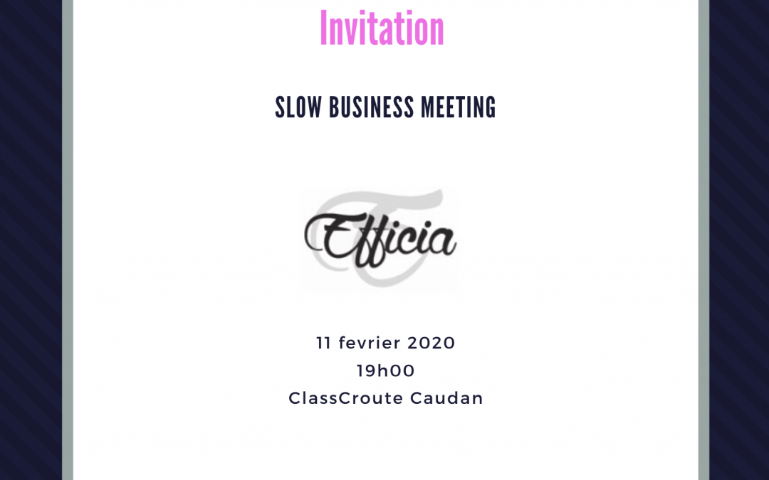 Slow Business Meeting 11/02/2020