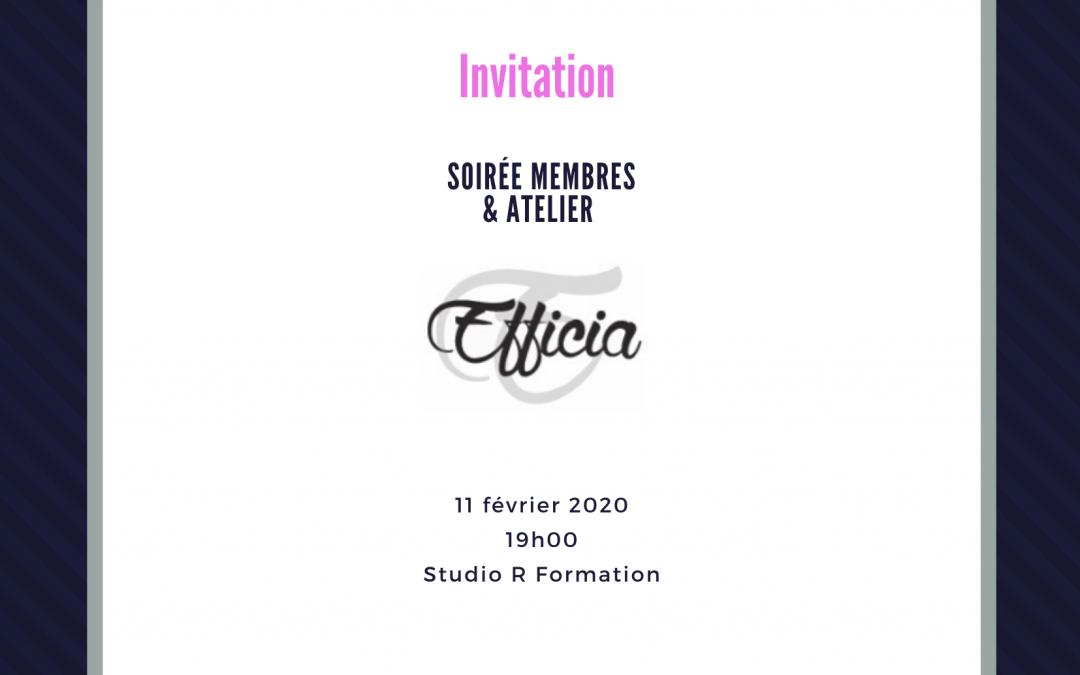 Soirée membres 11/02/2020