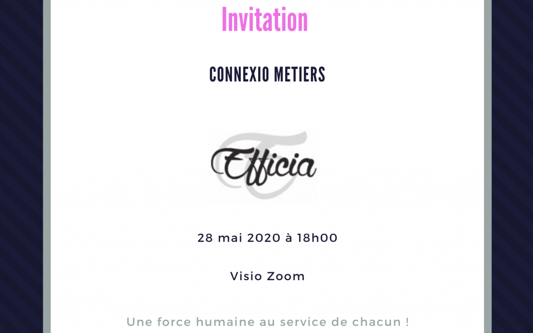 Connexio Métiers 28/05/2020