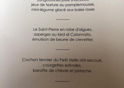 Diner d'exception 8
