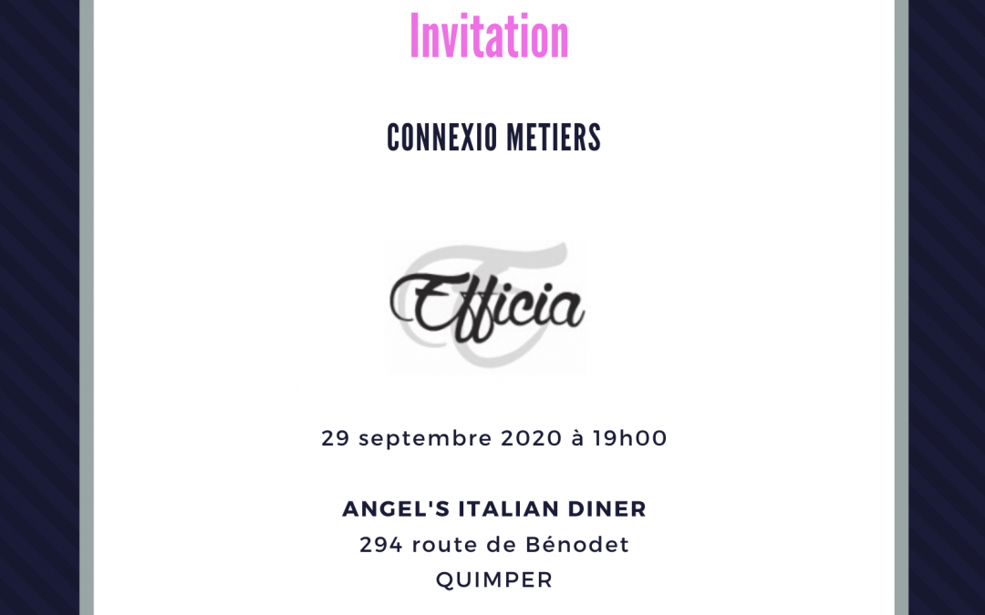 Connexio Métiers 24/11/2020